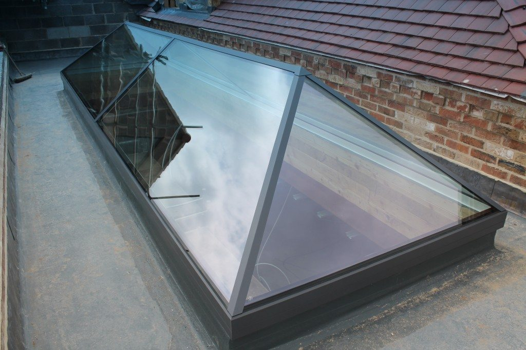Lantern Rooflight Frameless Roof Lantern Duplus
