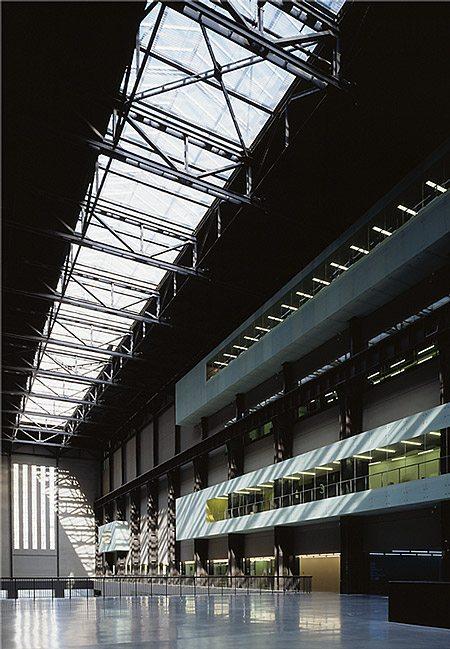 rooflight on tate modern
