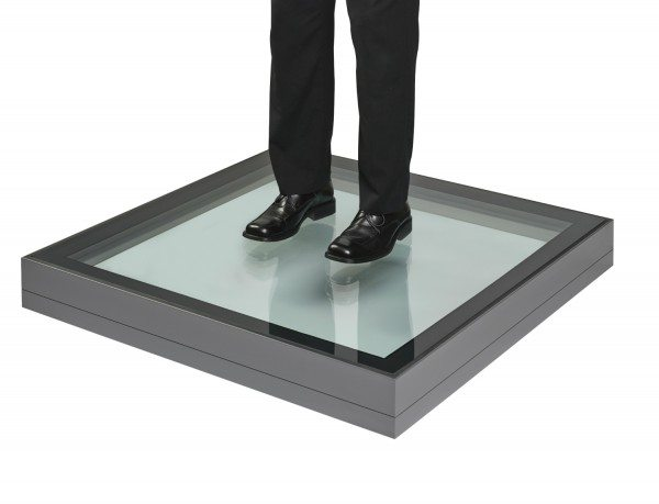 image of duplus walk-on fixed floor skylight