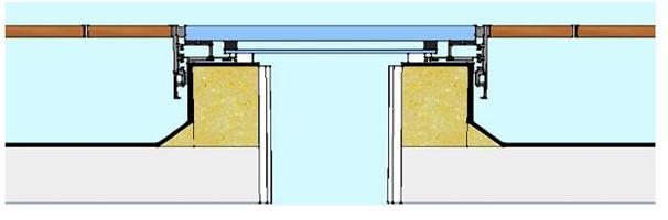 walk on fixed rooflight installation diagram