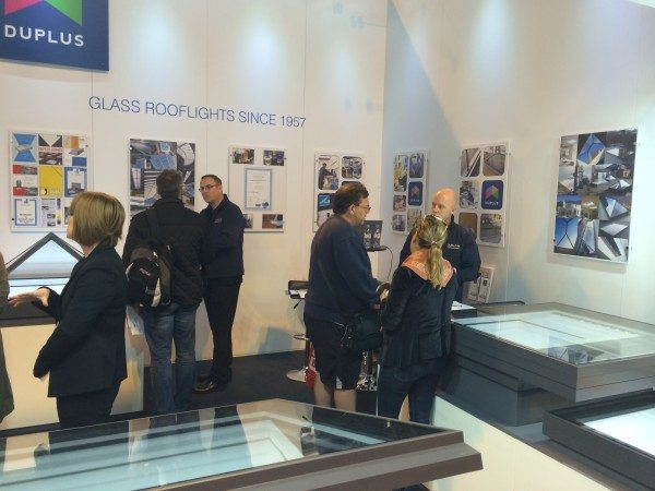 homebuilding and renovating show duplus rooflights