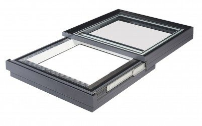 retractable sliding rooflight