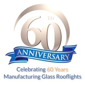 Duplus 60 years manufacturing glass rooflights