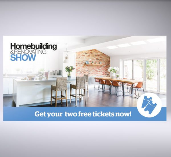 Homebuilding & Renovating Show banner