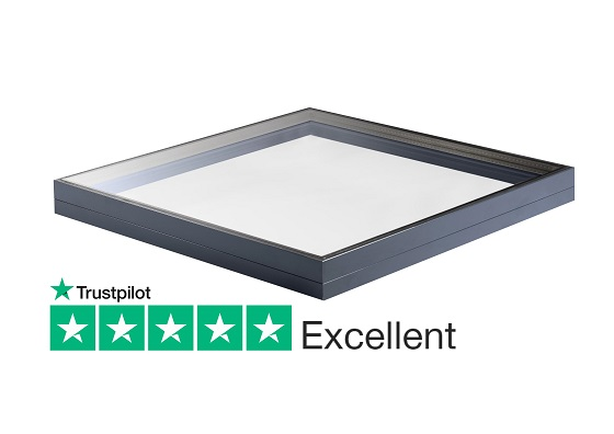 Fixed rooflight for flat and pitched roofs