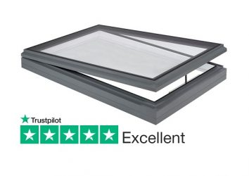 manual and electric opening rooflight for flat and pitched roofs