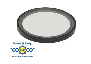 secure by design circular rooflight