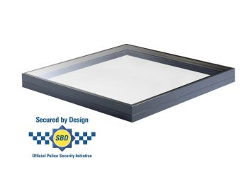 secure by design fixed rooflight