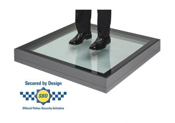 secure by design walk on rooflight