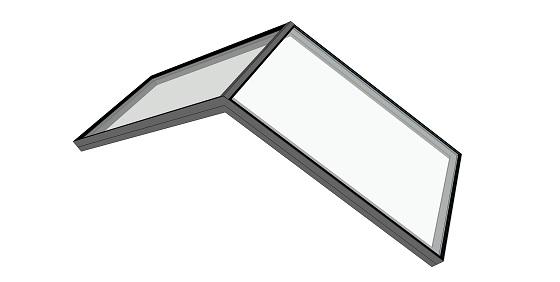 Fixed Ridge Rooflight