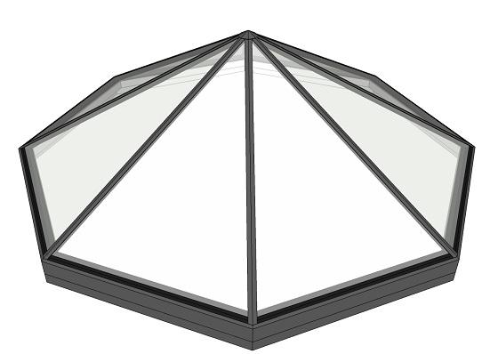 octagonal roof lantern