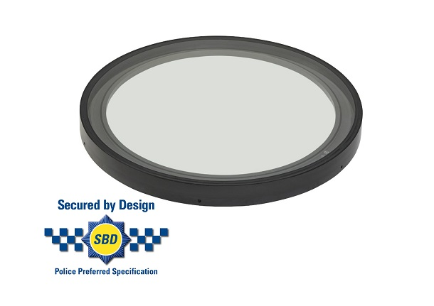 Secured by design circular rooflight