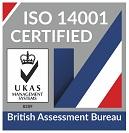 ISO14001 Certified Logo