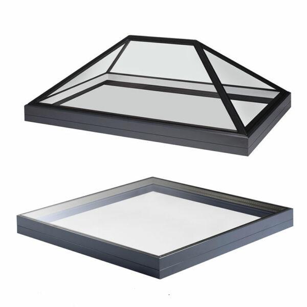 roof lantern and rooflight